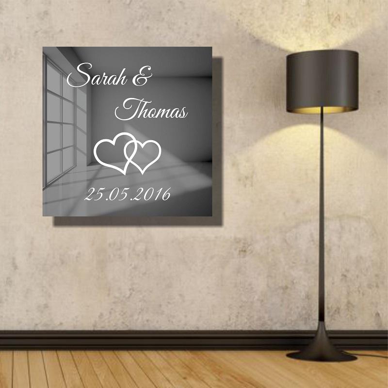 motivspiegel hochzeit hochzeitsgeschenk geschenkidee. Black Bedroom Furniture Sets. Home Design Ideas