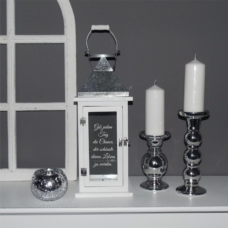 geschenk hochzeit taufe geburt weihnachten laterne mit. Black Bedroom Furniture Sets. Home Design Ideas